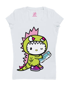 Hello Kitty Monster Kitty Tee STAIN- SIZE XL