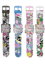 Load image into Gallery viewer, Hello Kitty Sanrio x Tokidoki Square Face Watch