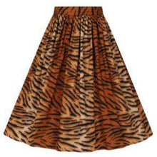 Load image into Gallery viewer, Tora Tiger Print Skirt