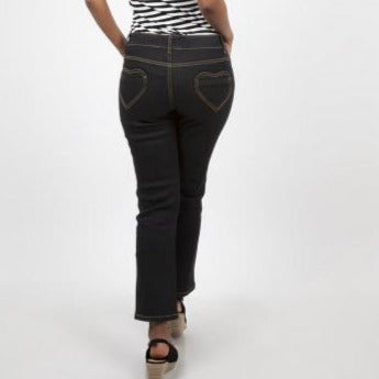 naomi heart pocket pants jeans