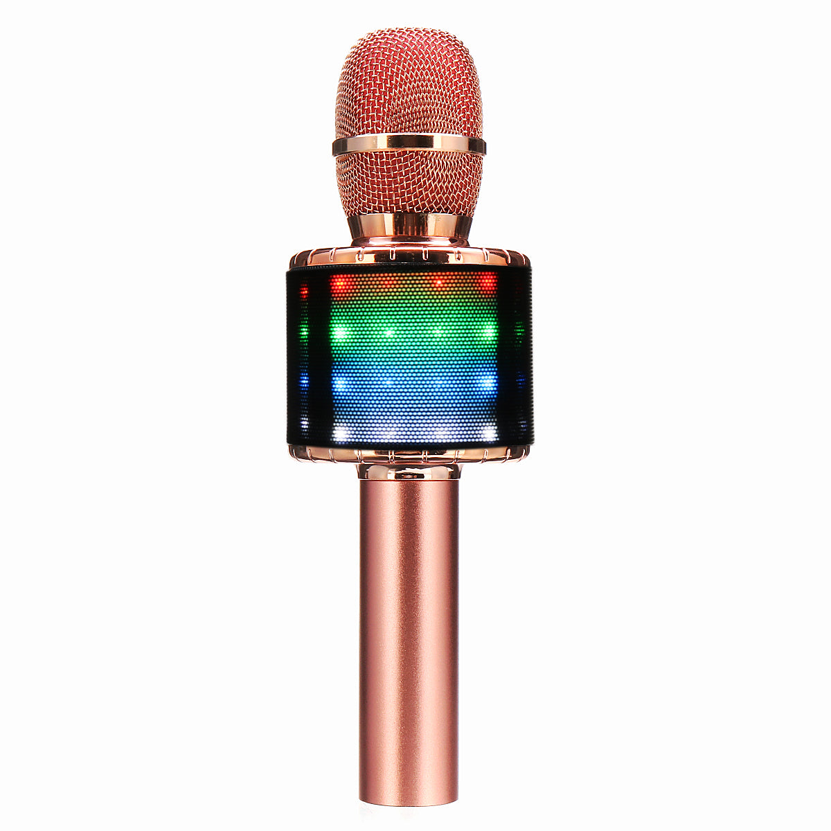 Karaoke Microphone with Wireless Bluetooth Speaker Recorder Portable for iphone Android Smartphone