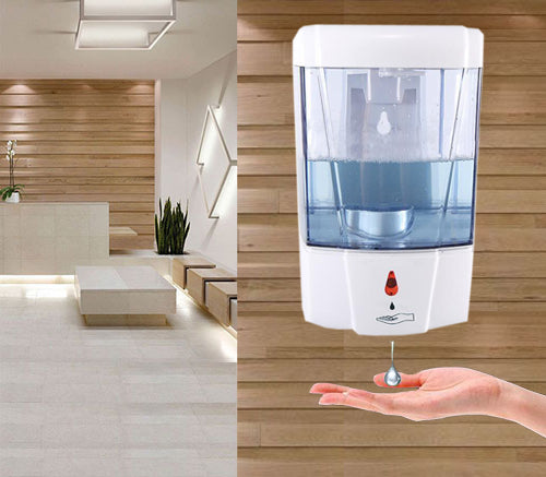 Automatic Hand Sanitizer Dispenser Wall mount Touchless Soap Dispenser