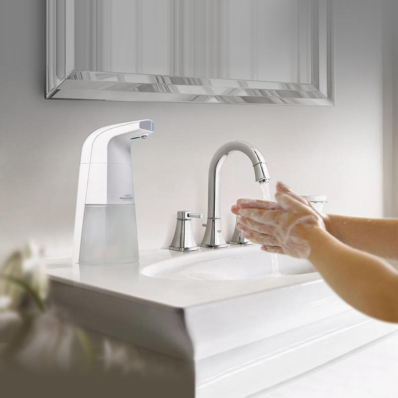 Touchless Foam Dispenser, Automatic Countertop Foaming Soap Dispenser