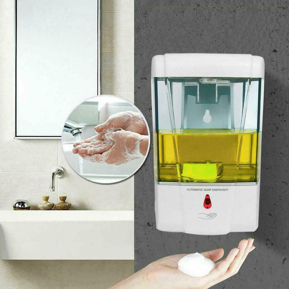 Automatic Foam Hand Sanitizer and Foam Soap Dispenser Wall Mount