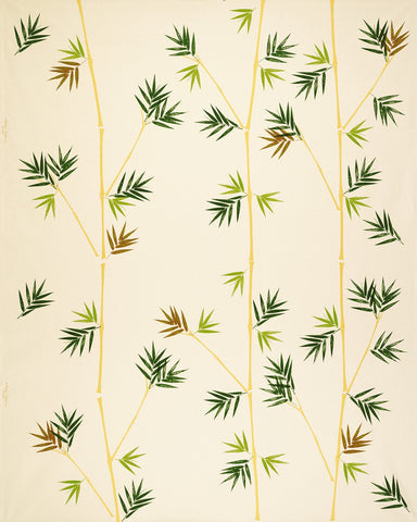 Bamboo (vertical) Print Fabric