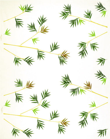 Bamboo (horizontal) Print Fabric
