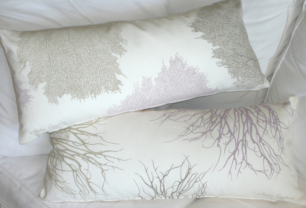 Sea fans / Coral Pillows