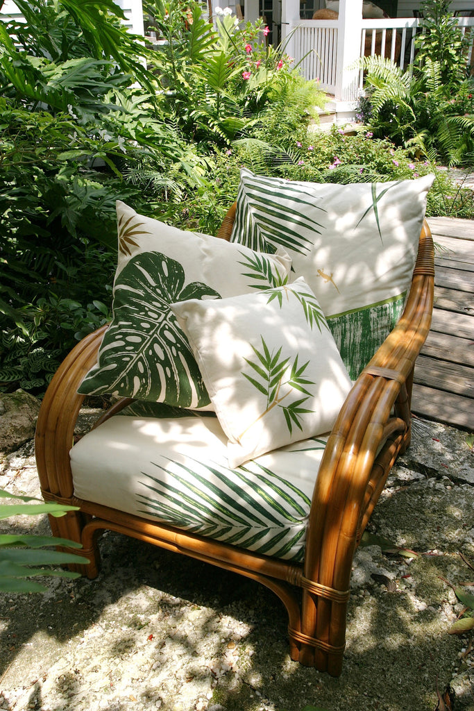 Garden Inspired Chair Cushions and Pillows