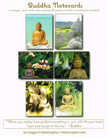 Buddha Note Cards