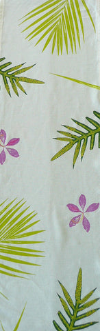 Ferns, Palms and Orchid Table Runner