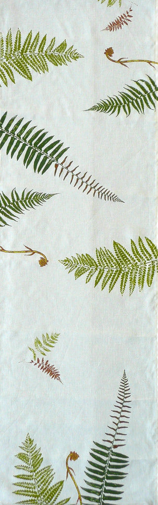 Ferns and Fiddleheads Table Runner