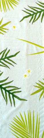 Ferns, Palms and Frangipani Table Runner