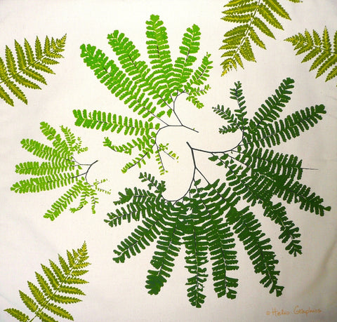 Maidenhair Fern Pillow Cover
