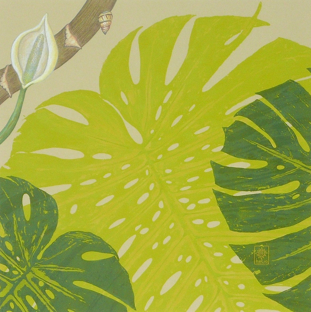 Jungle Vine Series: Monstera ~ Original