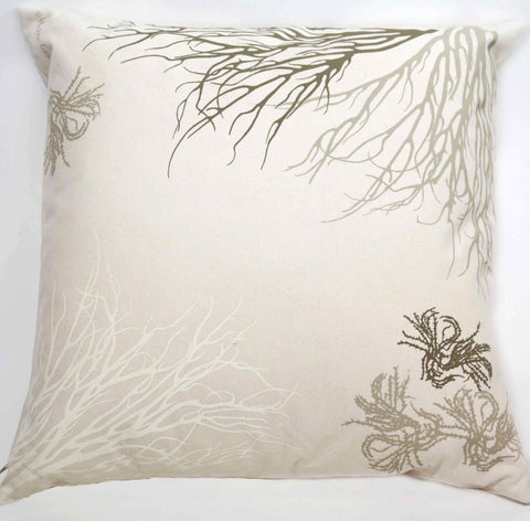 Corals and Seaweed Pillow