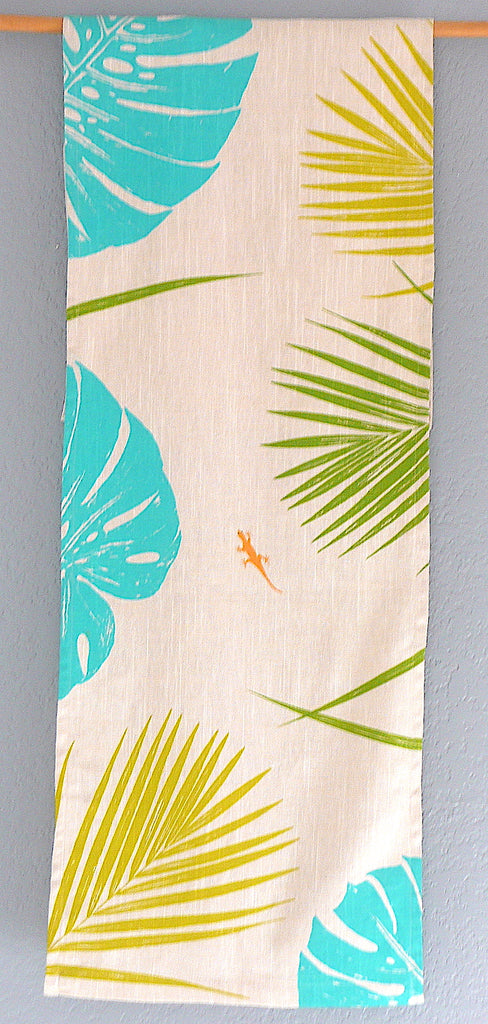 Fun in the Tropics ~ Linen Table Runner