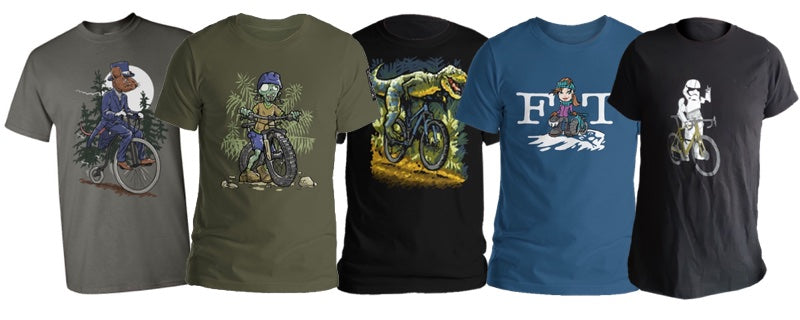 Bicycle t-shirts by Teeezy.com