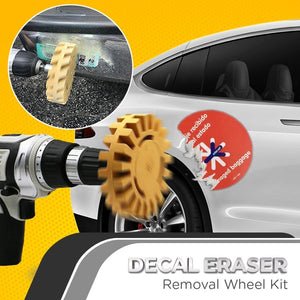 Decal Eraser Removal Wheel Kit