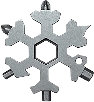 18-in-1 Stainless Steel Snowflake Multitool