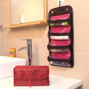 ROLL-N-GO Cosmetic Bag Toiletry Bag