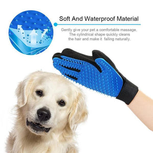 Best Hair Remover Tool - True Touch Pet Deshedding Glove, Grooming Glove