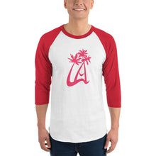 Load image into Gallery viewer, LAPT 3/4 Sleeve Red Baseball T