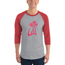 Load image into Gallery viewer, LAPT 3/4 sleeve raglan shirt INFRARED