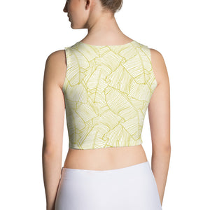 LAPT Crop Top GOLD PALM