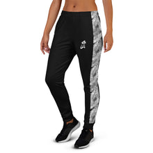 Load image into Gallery viewer, LAPT Women's Joggers BLACK PALM
