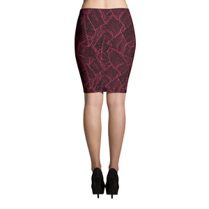 LAPT Pencil Skirt INFRARED