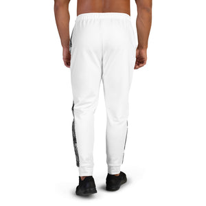 LAPT Men's Joggers WHITE PALM