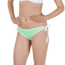 Load image into Gallery viewer, Reversible Green & Gold Bikini Bottom