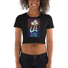 Load image into Gallery viewer, LAPT Women's Crop Tee PACIFIC COOLER PALM