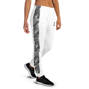 LAPT Women's Joggers WHITE PALM