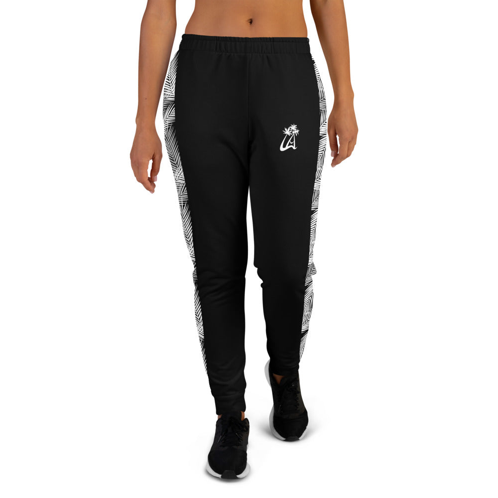 LAPT Women's Joggers BLACK PALM