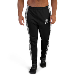 LAPT Men's Joggers BLACK PALM