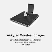 Laden Sie das Bild in den Galerie-Viewer, AirQuad Wireless Charging - urbanbird