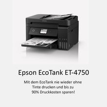 Laden Sie das Bild in den Galerie-Viewer, Epson EcoTank ET-4750