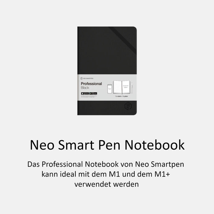 Neo Smart Pen Professional Notebook - urbanbird