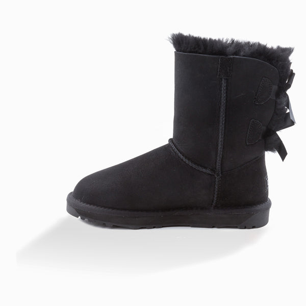 New Generation Ugg Ladies Classic Bailey Bow 2 Ribbon