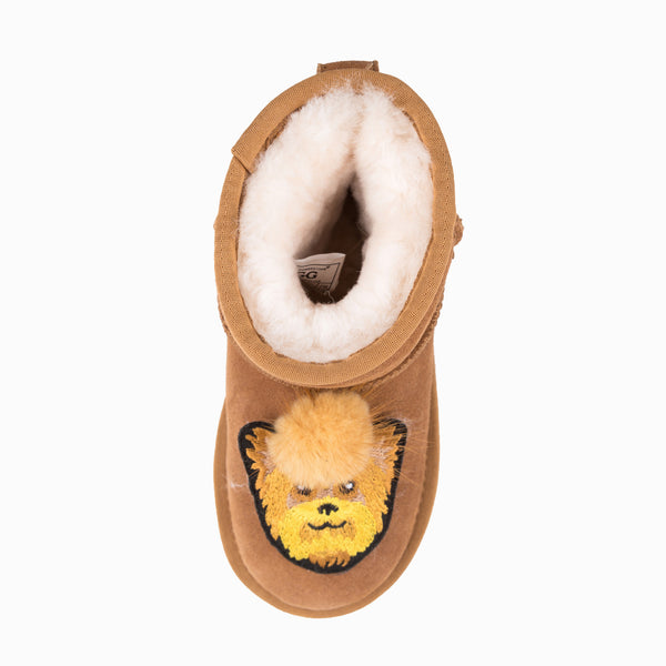 UGG KIDS I LOVE DOG MINI BOOTS