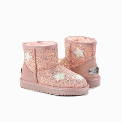 UGG KIDS MINI LILY STAR  BOOTS