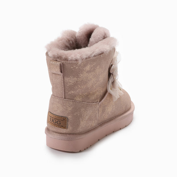UGG BROOKE BLING BOWS BOOTS