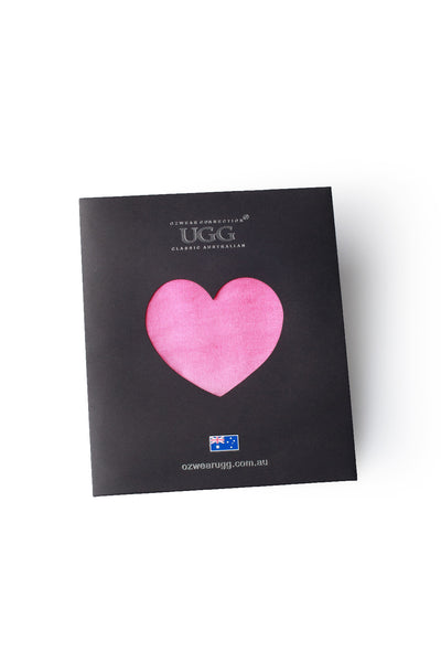 SCARF GIFT PACKAGING - HEART SHAPED WINDOW