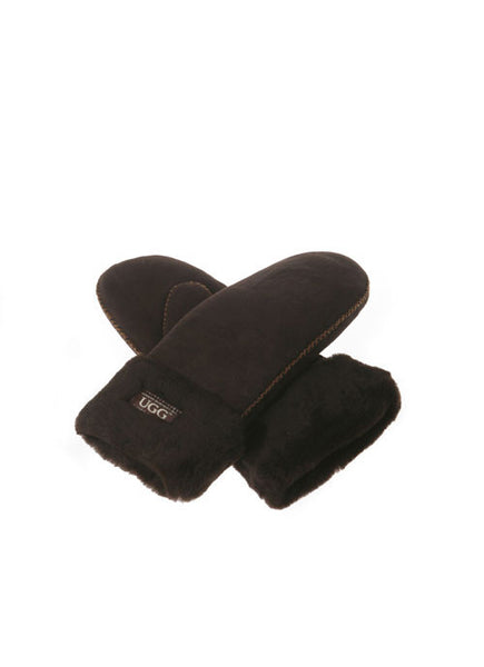 SHEEPSKIN MITTEN GLOVES