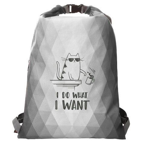 "Rucksack Diamant ""I Do What I Want"""