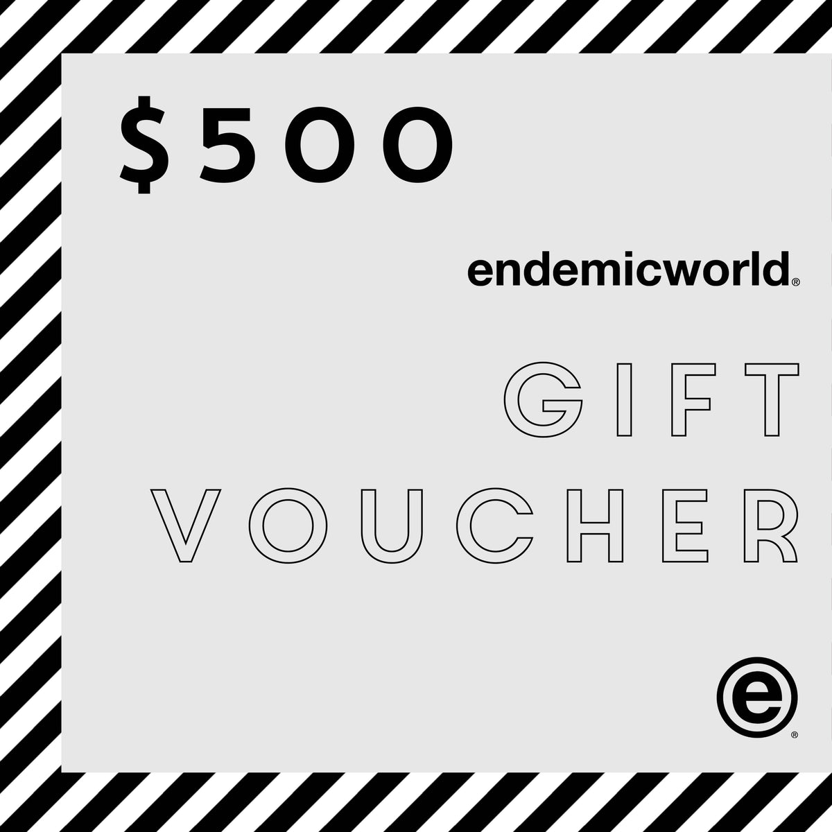 endemicworld® Gift Voucher