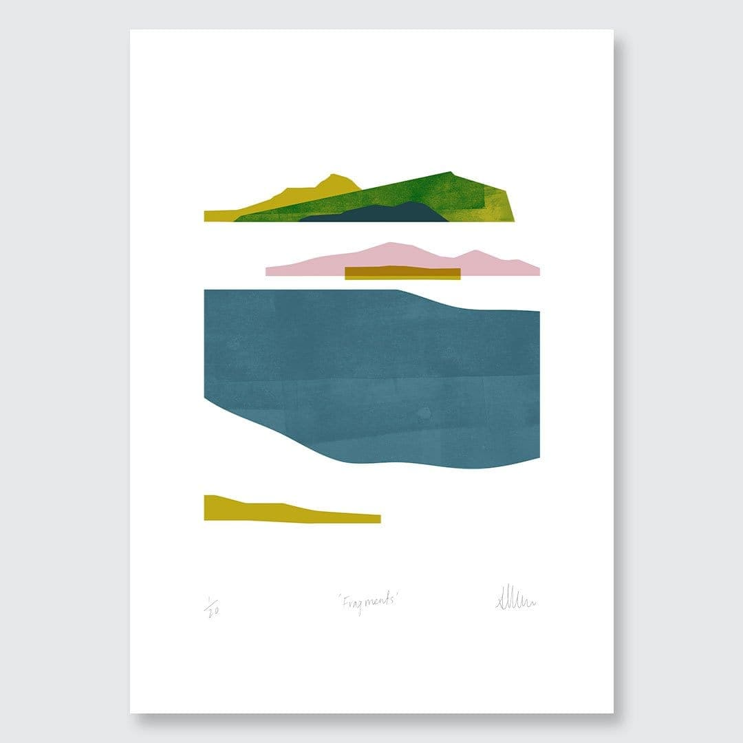 Fragments Limited Edition Art Print by Sarah Parkinson