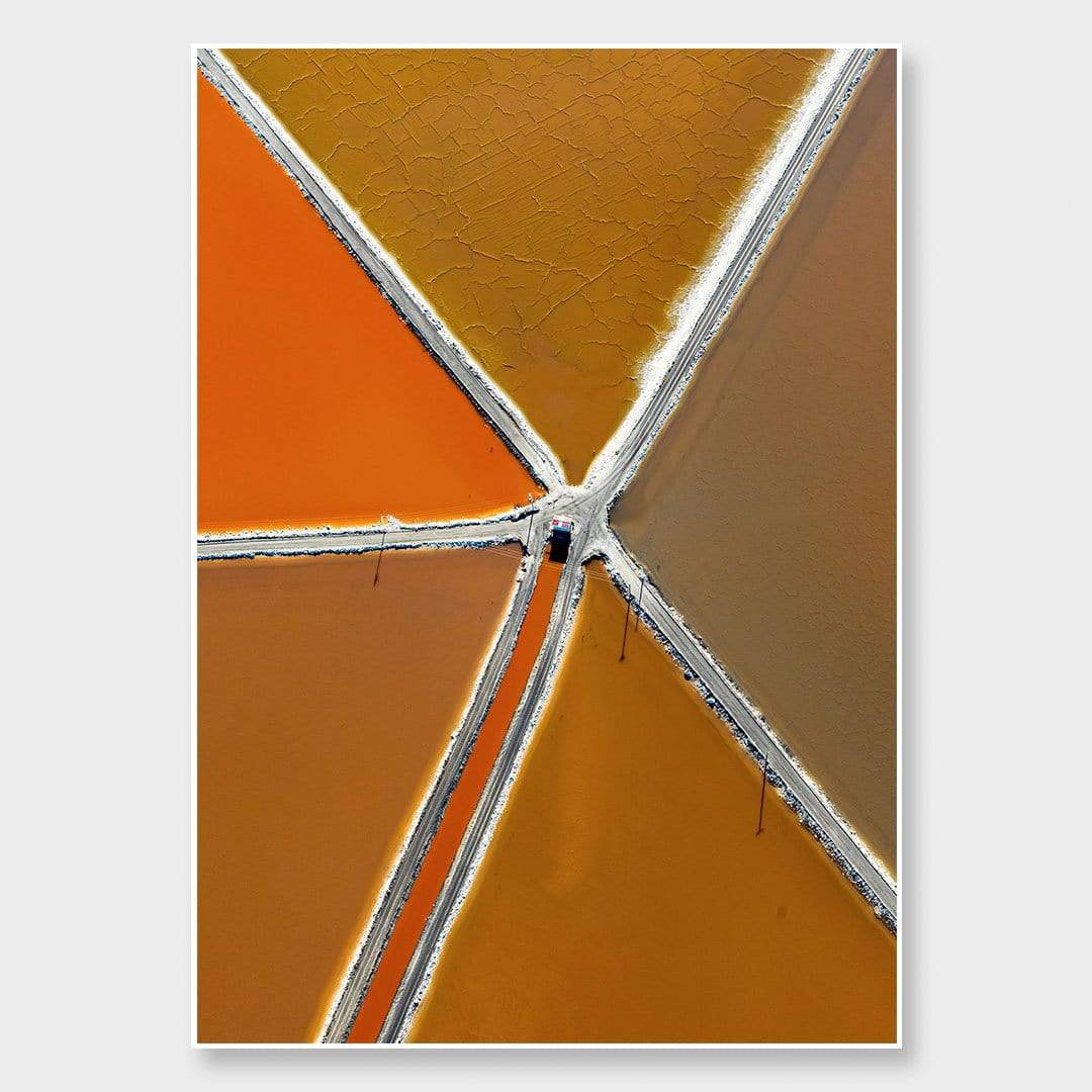 Geometric Salt Photographic Print by Emma Willetts