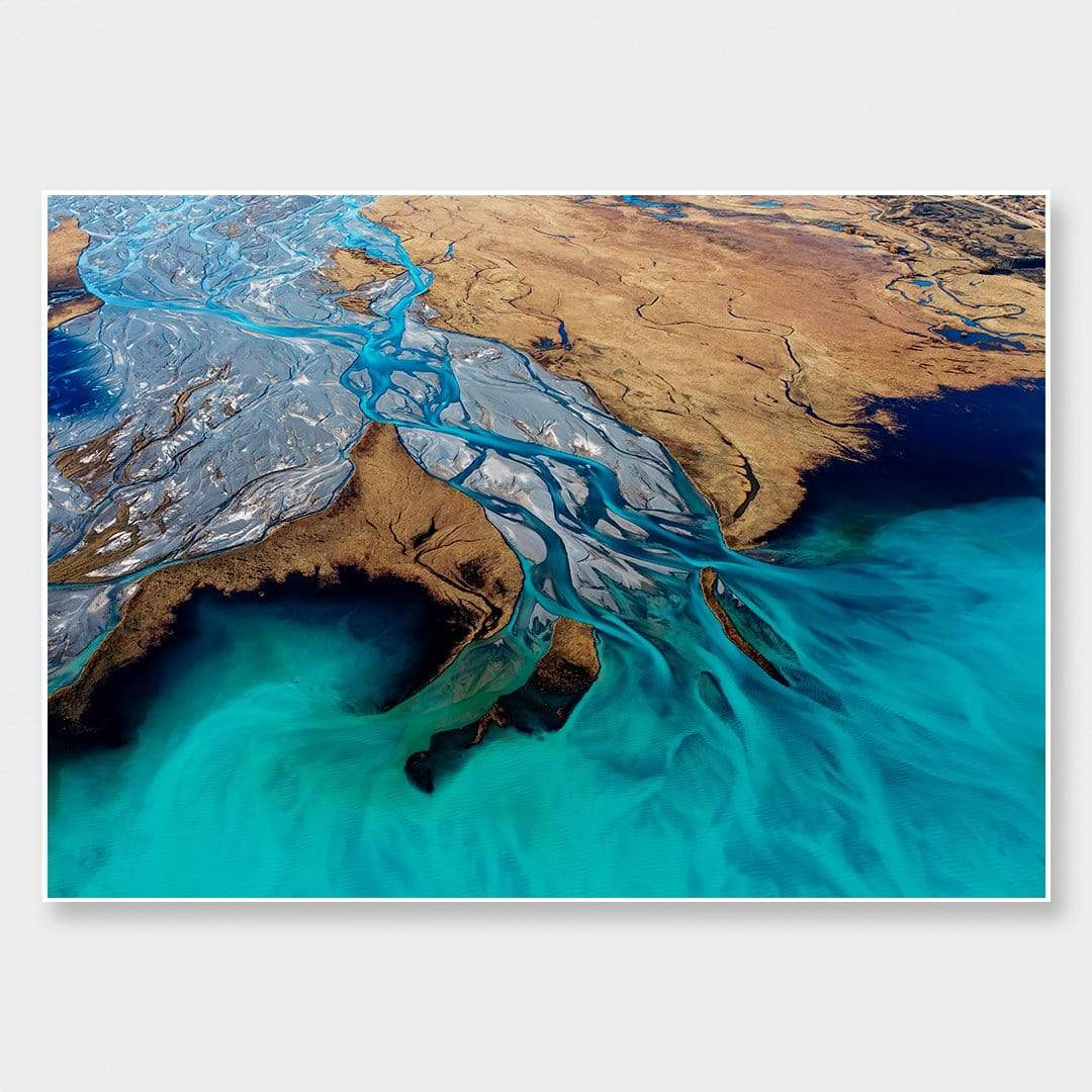 Godley River Mouth Photographic Print by Emma Willetts